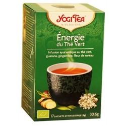 YOGI TEA ENERGIE DU THE VERT