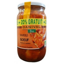 RAVIOLIS BOEUF 670G  20%GRATUIT