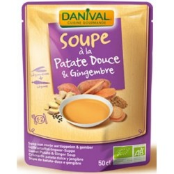 SOUPE PATATE DOUCE ET GINGEMBRE 500G DANIVAL
