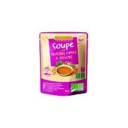 SOUPE LENTILLES CORAIL EPICES 50CL