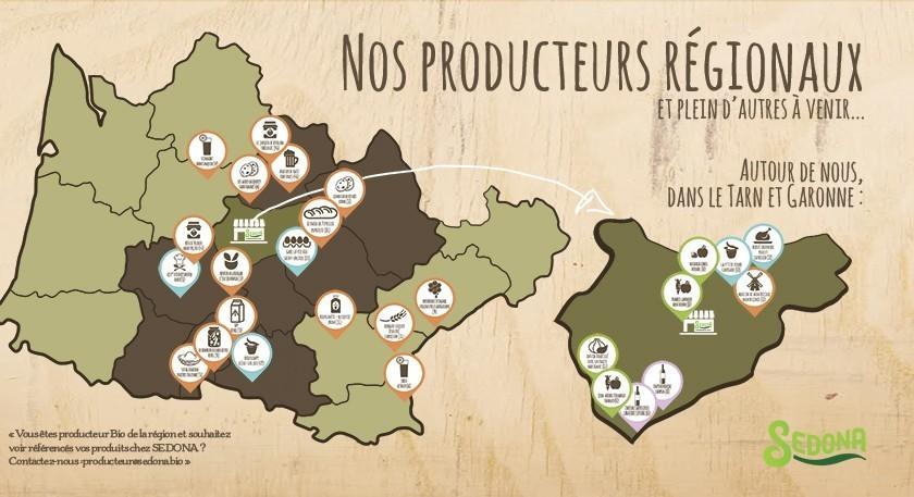 Nos producteurs régionaux